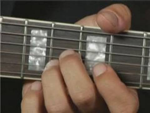 Root Position of Eb Major Guitar Chord on the Top Strings : Guitar ...