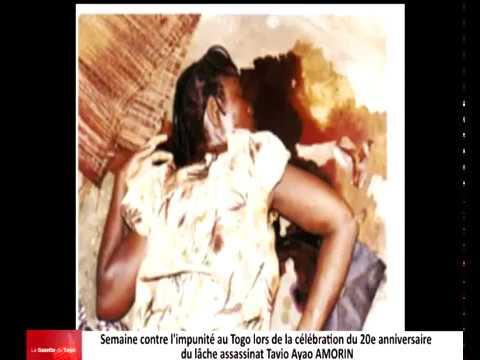 Semaine contre l'impunité au Togo : 20 ans après l'assassinat de Tavio Ayao AMORN