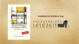 """#17 Buchempfehlung """"Germany 2064"""" von Martin Walker"""