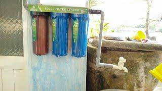 Bộ lọc nước 3 cấp mua tại lazada - HOANGAN-YOUTUBE