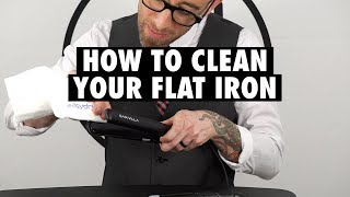 Love Thy Tool: How To Clean & Store Your Flat Iron