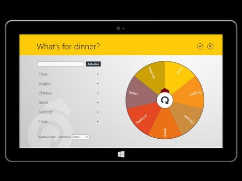 Universal Decision Maker - Best decision making app for Windows 8