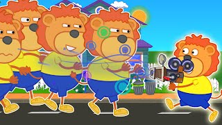 Lion Family Official Channel   Clones From PhotoShop   Cartoon For Kids