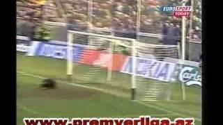 Serbiya və Çernoqoriya - Azərbaycan 2:2 12.02.2003