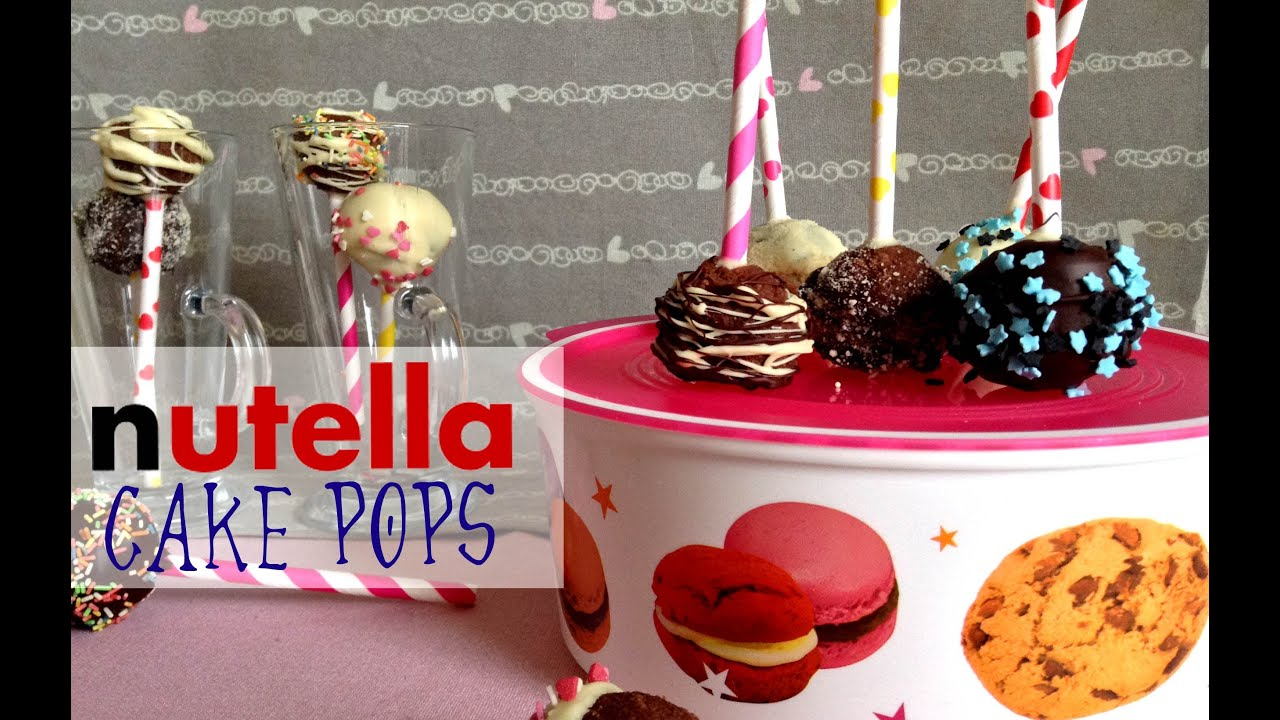Nutella Cake Pops How To Make It S Time Cook
