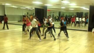 "Busy Signal ""Wine Pon Di Edge"" Choreography by Alicja Blachut MIU Fitness - 26.10.13 London"
