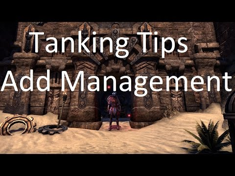 [ESO] Tanking Tips - Add Management