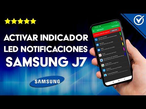 Cómo Activar el Indicador led de Notificaciones del Samsung J7