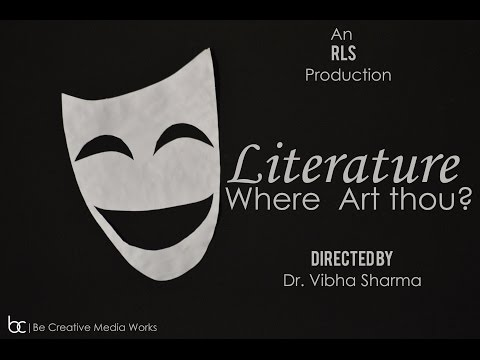 Literature Where Art Thou? | Raleigh Literary Society | Department of English| AMU