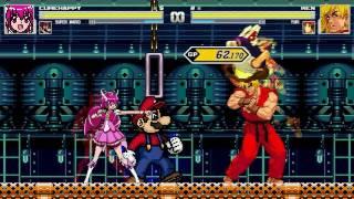 AN Mugen Request #840: Cure Happy & Super Mario VS Ken & Yuri
