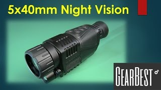 5x40mm IR Night Vision from GearBest
