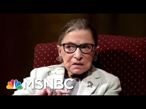 Ruth Bader Ginsburg Undergoes Procedure To Remove Cancerous Growths | Andrea Mitchell | MSNBC