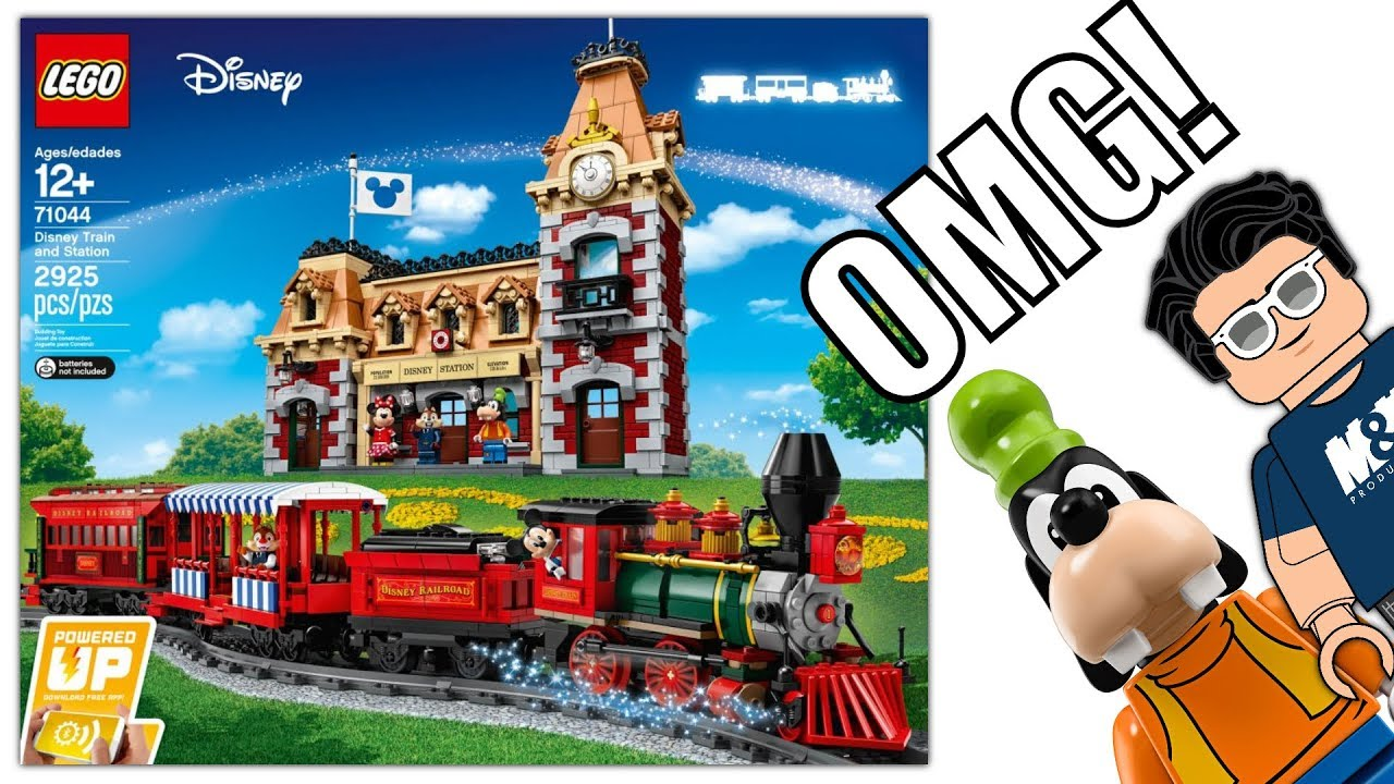 LEGO 71044 Disney Train and Station! ALL DETAILS!