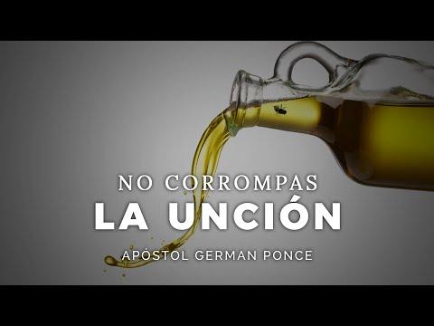 Apóstol German Ponce │ No Corrompas La Unción │ Martes 23 Junio 2020
