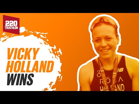 Vicky Holland post-Montreal WTS win interview