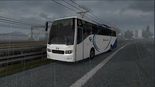 """Please Subscribe For More Videos   Details & Download From https://ets2.lt/en/hino-rm2-bus/#more-278401        **Please do not re upload the download link.use the modrs link** Good Evening ! It's been a long time since I uploaded my last mod. So here is another upload. It is the last mod I have done for ETS2 community. In the mean time ,I have been working with TruckersMP as a 3D model artist only in Add-on team.This mod was done actually few months ago. But I am uploading lately.  Version Supported: 1.36-1.37 Dealer: Mercedez Beenz Hope you will enjoy.You can make skins on it. One skin at a time and you have to keep it above the main bus file. And UV templates with Explainations are there.  If you need any help or question feel free to reach me.  facebook.com/iamshahidahammed or you can find me in TruckersMP """"mdshahid6540"""".  Credits: Md Shahid Ahammed & Fahim Auvro and Thanks to RS Iqbal for sponsoring us and to keep the inspiration."""