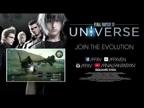 Trailer dell'universo di FINAL FANTASY XV - Gamescom 2017