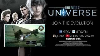 FINAL FANTASY XV: UNIVERSE Gamescom 2017 Trailer