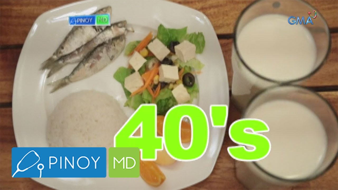 Pinoy md which foods to eat for people in their 40s youtube forumfinder Images