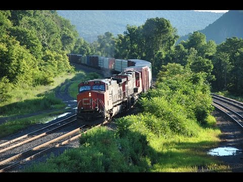 6.21.15 - 6.24.15 Railfanning The Greater Harrisburg Area. Part 4.