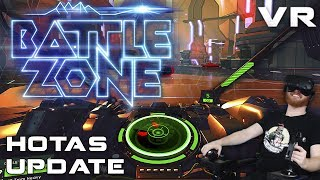 Battlezone VR HOTAS gameplay - HOTAS now officially supported as of patch 1.07