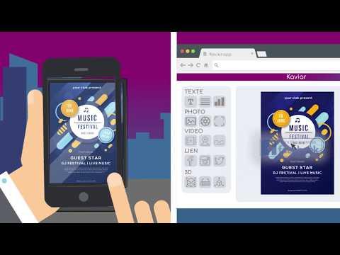 KaviAR • Réalité Augmentée en ligne • Logiciel + App • 7j gratuits