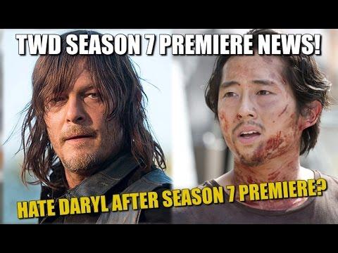 The Walking Dead Season 7 Spoilers Hate Daryl After Season 7 Episode 1?