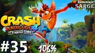 Zagrajmy w Crash Bandicoot 4: Najwyższy Czas (106%) odc. 35 - Fabryka nitro