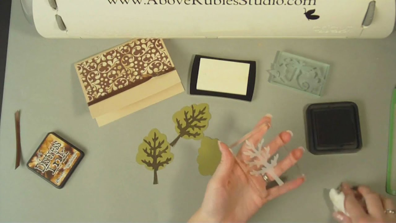 Cricut Cuttable Stamps And Stamping Solutions