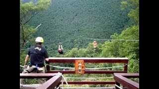 2nd biggest zip line in the WORLD