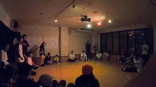 SAKURAJIMA  HIP-HOP SOLO BATTLE MASTER  FINAL HIMEKA vs MARI
