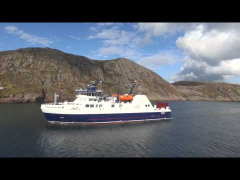 Arrival of RoPax Ferry MV Veteran in Newfoundland, Canada