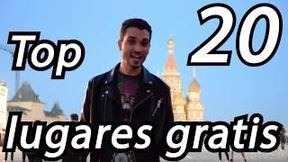 Top 20 lugares en Moscú gratis!!