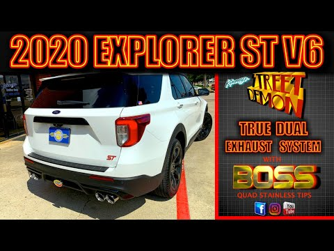 2020 Ford Explorer ST Twin Turbo Kinney's Street Demon Performance Exhaust