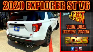 2020 Ford Explorer ST Twin Turbo Kinney's Street Demon Performance Exhaust