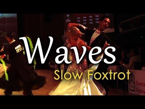 SLOW FOXTROT | Dj Ice - Waves (orig. Mr Probz) (28 BPM)