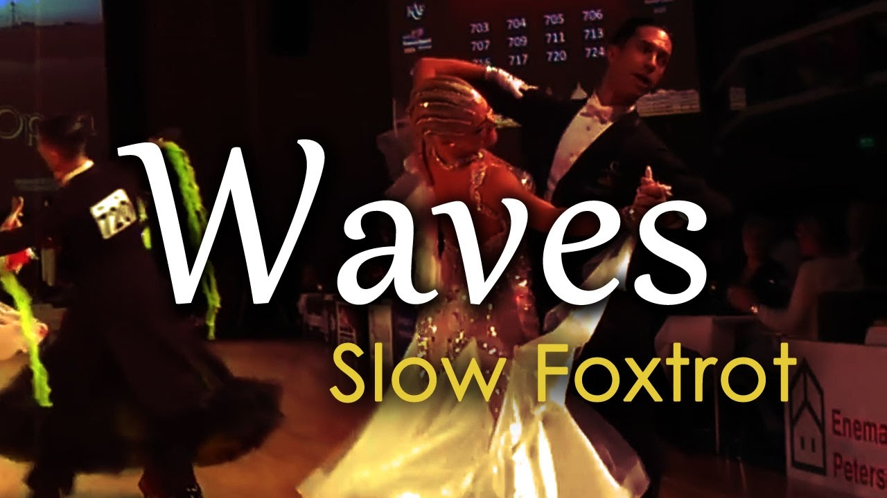 SLOW FOXTROT | Dj Ice - Waves (orig. Mr Probz) (28 BPM)
