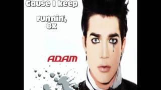 Скачать Adam Lambert Runnin Lyrics