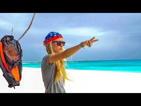 Sailing to a remote uninhabited Paradise!! Sailing Vessel Delos Ep. 117