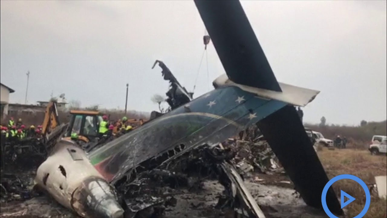 Several feared dead as plane crashes in Kathmandu, Nepal