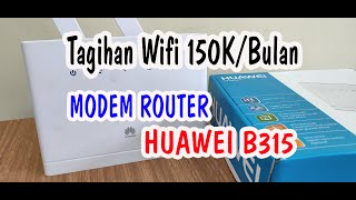 Review Modem Home Router Huawei B315 4G LTE - Ersy Official