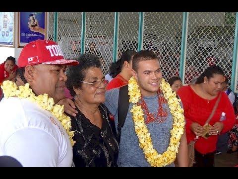 Tuimoala Lolohea - Mate Ma'a Tonga - Farewell at Fua'amotu Airport