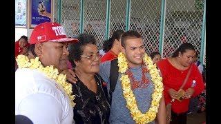 Gambar cover Tuimoala Lolohea - Mate Ma'a Tonga - Farewell at Fua'amotu Airport