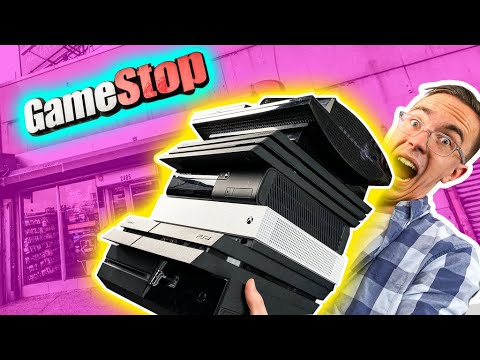 I Bought EVERY Console At GameStop...