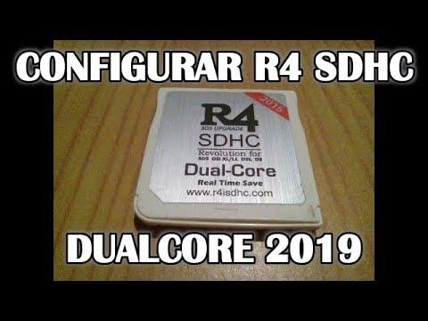 Configurar R4 SDHC Dual Core 2019