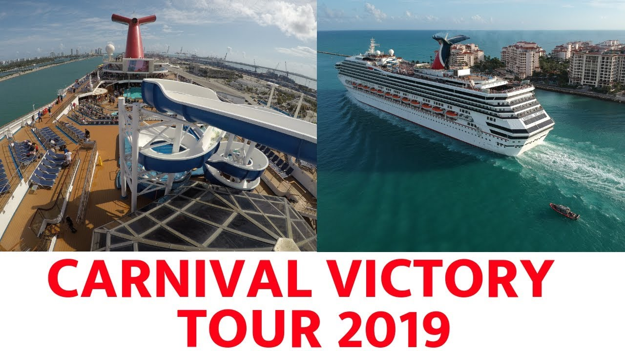 Carnival Victory Tour 2019 Youtube
