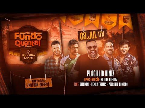 Live - No Fundo De Quintal com Placillio Diniz