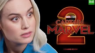 Brie Larson Reportedly Worried About Being Overshadowed In Captain Marvel 2