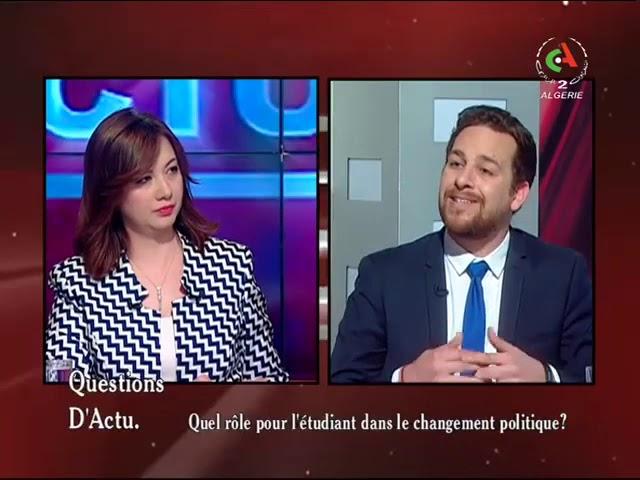 مشاركة حبيب براهمية  في البرنامج التلفزيوني
