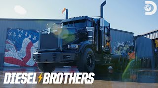 Truck Reveal: The Custom Sparks Motors Semi | Diesel Brothers